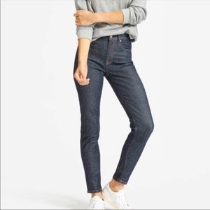"Everlane 10"" Rise Skinny Jeans   Dark Wash"